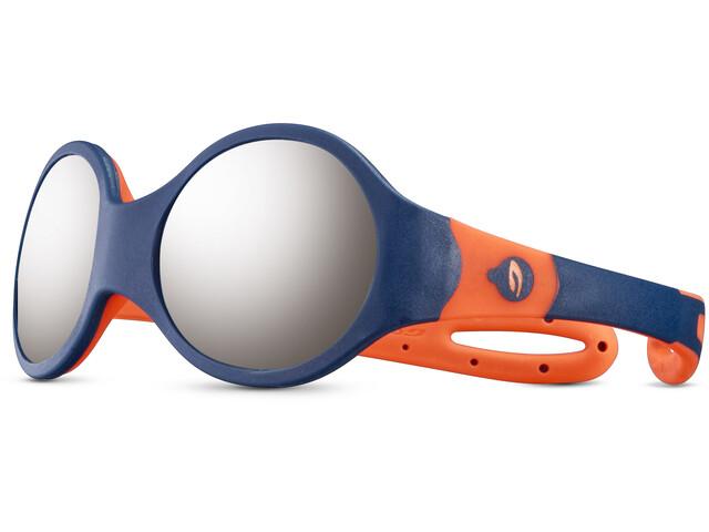 Julbo Loop M Spectron 4 Sunglasses Kids blue/orange/grey flash silver